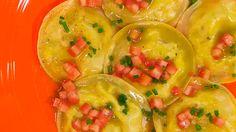 Receta de raviolis salados de queso