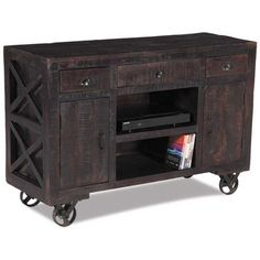 Vintage Industrail TV Stand / Sideboard $444
