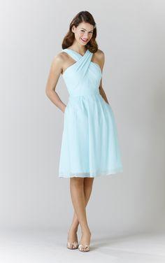 Kennedy Blue Bridesmaid Dress Anna