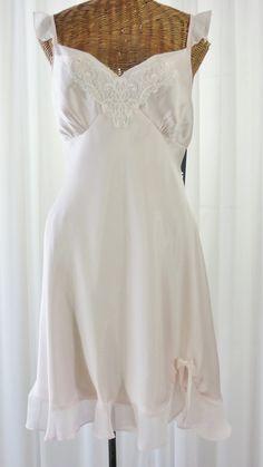 36af0266fba Apt 9 Pink Nightgown Sheer Flutter Cap Sleeve Empire Waistline New Old  Vintage Stock XL