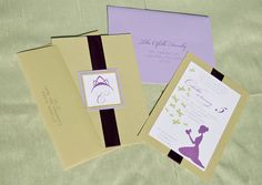 Princess & The Frog Wedding Inspiration - real parties «  |  we opted to send half of the invitations in avocado and the other in lavender.  I was fortunate that the USPS had Mark Twain stamps featuring a riverboat which lended to the bayou theme.