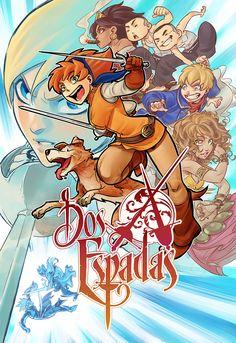 Dos Espadas - artist: Kenny Ruiz and Noiry (color) Comic Covers, Manga Anime, 1, Artist, Fictional Characters, Color, Editorial, Illustrations, Swords