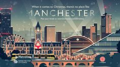 This year we're very proud to have made the Manchester Christmas advert for M-Four and Marketing Manchester. Using Owen Davey's posters as a starting…