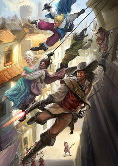 ArtStation - The 3 Musketeers, Axel Steinhanses