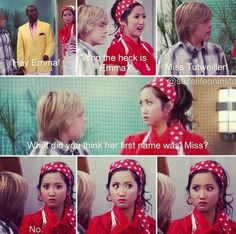 Omg London from suit life of deck !!  She was a dumb Asian it was funny