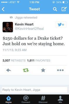 Drake tickets costing more than Mariah's? lol no thank you