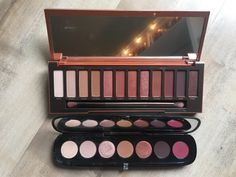 Urban Decay Naked Heat and Marc Jacobs Scandalust