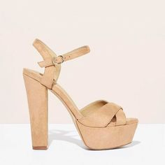 For the animals for the planet - and for extra long-looking legs.  Vegan platform heels and  by @susistudio