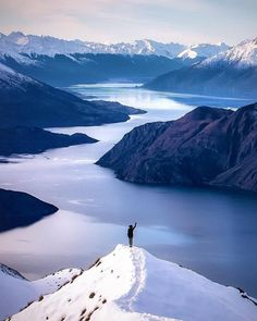 Mount Roy peak view ... Wanaka, South Island, New Zealand -- by Rach Stewart Photography