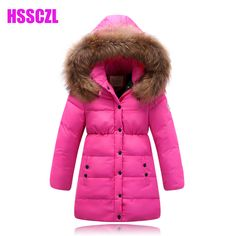 2016 Direct Selling Winter Jacket Winter Children's Clothing Female Child Down Coat Medium-long Thickening Fur Collar Outerwear #>=#>=#>=#>=#> Click on the pin to check out discount price, color, size, shipping, etc. Save and like it!