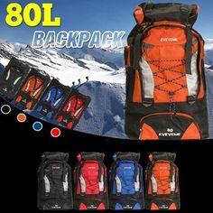 2dc289d97 mochila senderismo 80l 80 litros, viaje, montaña,camping mochila grande  azul Mochilas Senderismo