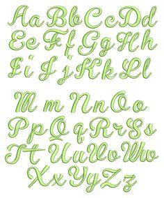 Priscila Script Embroidery Font