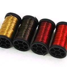 Color wire, artistic wire for wire crochet - EARTH