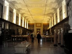 British Museum-The Enlightenment Room. I want to stay here forever