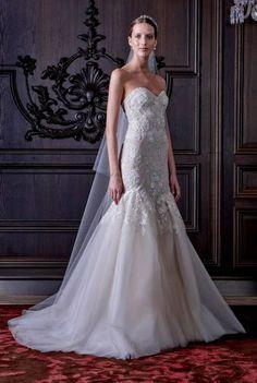 Vestidos de novia Monique Lhuillier 2016: lujo, sofisticación y encanto Image: 41