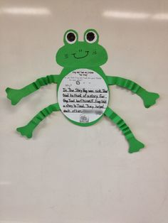 frog and toad are friends opinion writing craft activities for