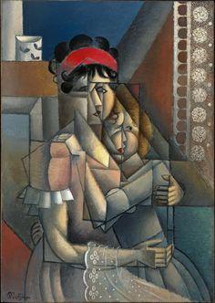 FEMME À LA FENÊTRE, MATERNITÉ, 1912 - Jean Metzinger