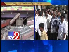 Anjaneya swamy idol drowns in canal, devotees protest