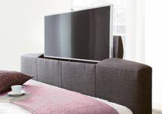 New Kaydian Bowburn Upholstered TV Bed - Slate Fabric