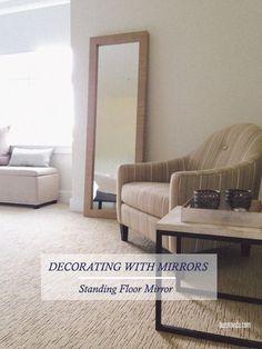 wickham standing mirror | Craft Ideas | Pinterest | Espelhos para o ...