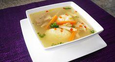 Aceasta este o reteta pe care o am de la mama, o supa foarte buna pe care o mancam des in copilarie.
