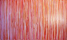 "Saatchi Online Artist: Claire Desjardins; Acrylic, 2011, Painting ""Date Night"" #art #red"