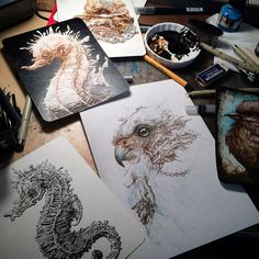 The Creative Tumblings of N. Moleskine Sketchbook, Sketches, Drawings, Creative, Instagram Posts, Student, Art, Art Background, Kunst