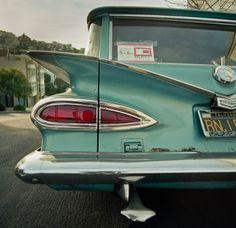 Half A Chevrolet | 1959 chevrolet parkwood | davidbouchat | Flickr