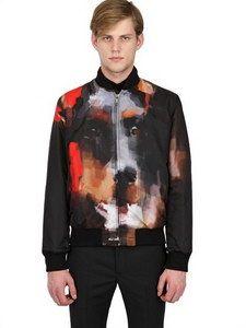 Givenchy - Reversible Doberman Nylon Bomber Jacket   FashionJug.com