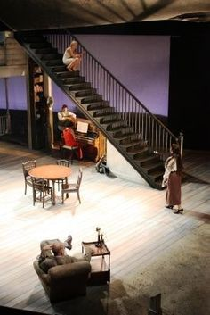 Dress rehearsal for Dark at the Top of the Stairs
