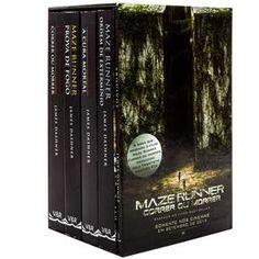 Livro - Box Maze Runner - 5 Volumes - James Dashner - Juvenil no Extra.com.br