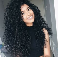 I wish my curls were long like hers. Same curl pattern but they shrivel up