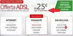 #vodafone dura solo 4 settimane http://www.fissoapoco.it/vodafone-offerta-a-25-euro-ma-dura-meno-4-settimane-e-non-un-mese/ #telefonia #adsl