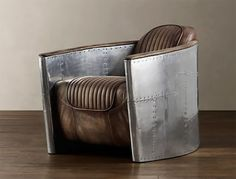 Vintage aviation inspired furniture