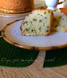 Ciambella+salata+piselli+e+formaggio,+ricetta+saporita Bread, Brot, Baking, Breads, Buns