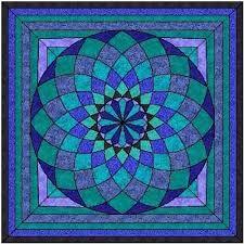 Resultado de imagem para giant dahlia quilt pattern free