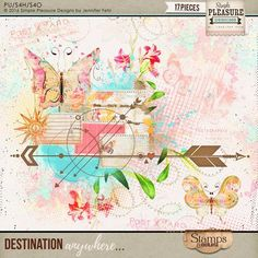 Destination Anywhere Stamps