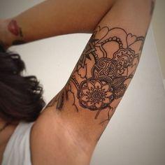 Mandala tattoos. Half sleeve. | @jooo_anne Instagram photos | Webstagram