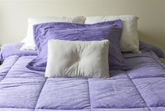 Ultra soft lilac bedding for warmth and superior comfort in winter!