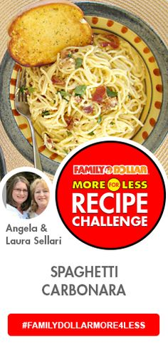 Family Dollar More for Less Recipe Challenge- I would LOVE to #Win #FAMILYDOLLARMORE4LESS #Contest!!!