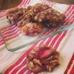 Strawberry Banana Oatmeal Cookies. Gluten Free Breakfast