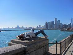 Nicola se la spassa...SkyLine Chicago