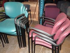 We have so many chairs! I am sure you will find something that works for your office space. Visit our warehouse at 2700 Riverside Drive Chattanooga