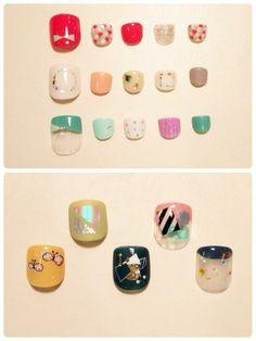 ZOZOPEOPLE | kolmio+LIM - 春 nail #ネイル #nails