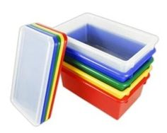 ELR Stack and Store Tub - 15 Pack  (Early Childhood Resources ELR-0101)