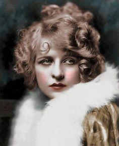 Antique Vintage Colorized Photo Reprint of Sad Beautiful Woman | eBay