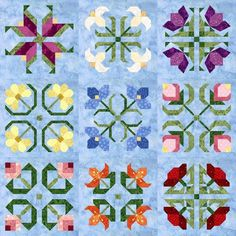 """OOP - Pam Bono, New Out of the Darkness blocks (simpler piecing"""""""