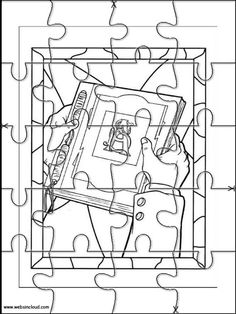printable jigsaw puzzles to cut out for kids spiderwick 2 coloring pages