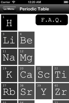 The elements flashcards ios universal flashcards is based on the exploring chemistry nofold periodic table ios iphone if you are a chemistry student of any capacity this app is indispensable the periodic table is the urtaz Gallery