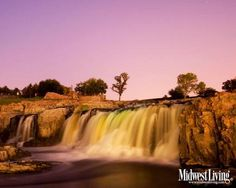 Falls Park in Sioux Falls, South Dakota. Put this photo on your desktop—or click for more South Dakota desktop photos!